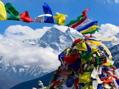 Why do trek to Everest region