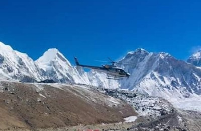 Helicopter Tour in Everest Kala Patthar